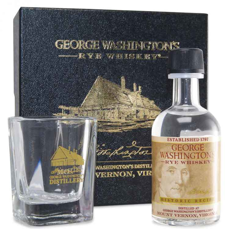 George Washington's  Whiskey Gift Set