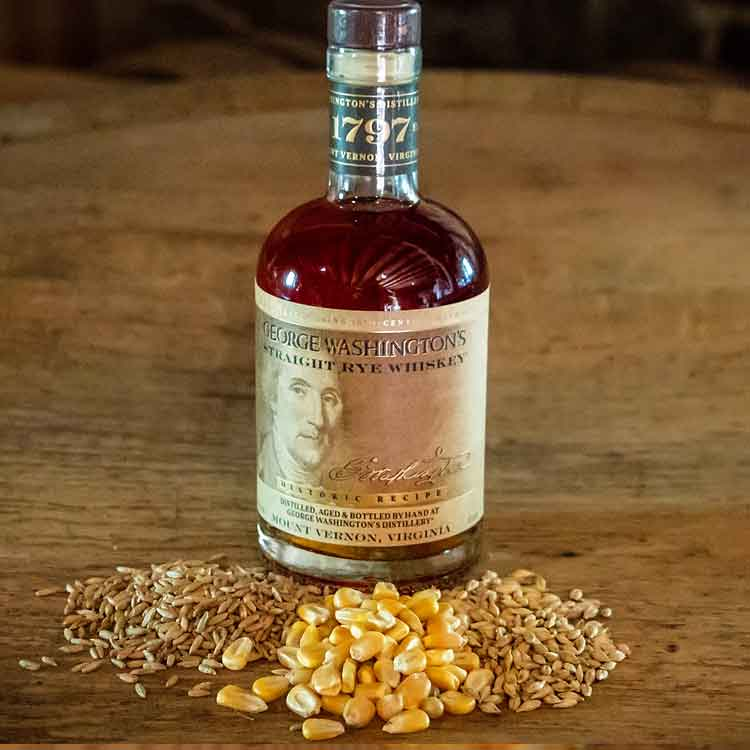 George Washington's Straight Rye Whiskey®