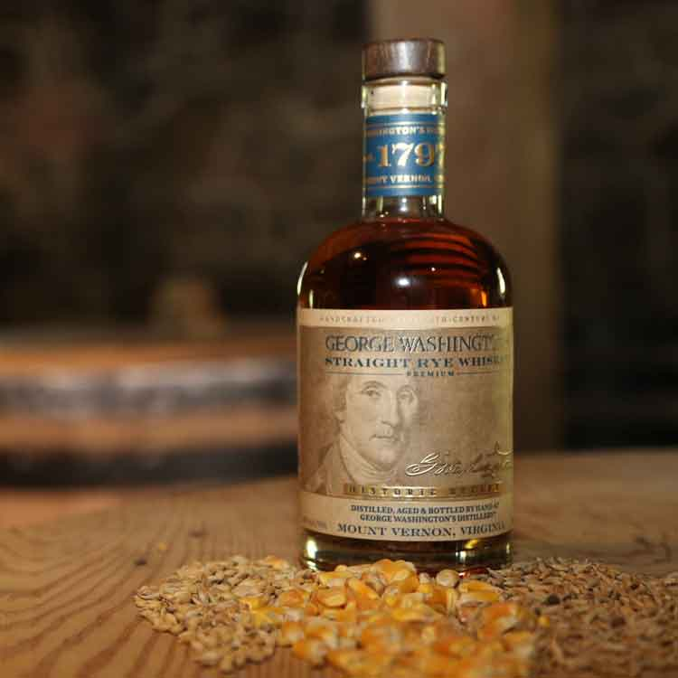 George Washington's Straight Rye Premium Whiskey®